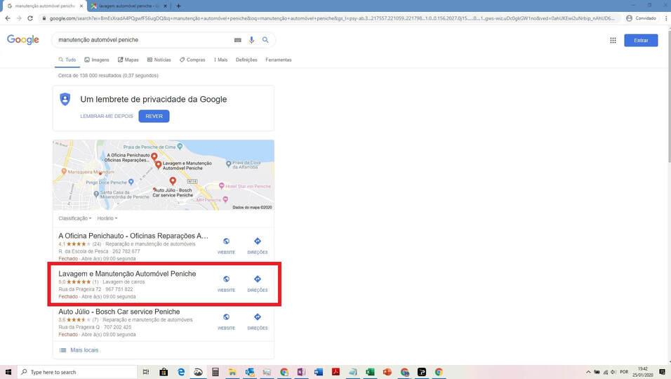 Serviços Google My Business 9