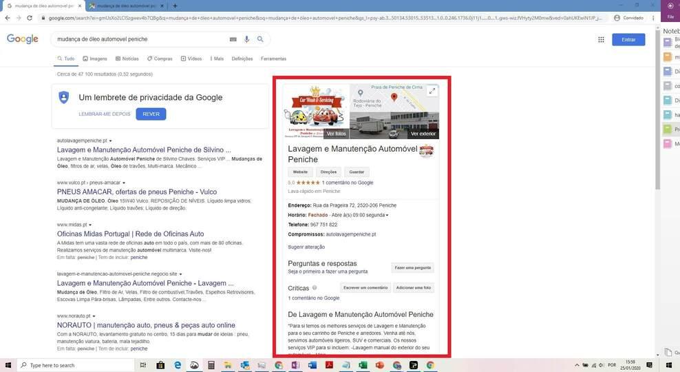 Serviços Google My Business 4