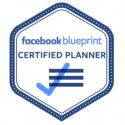 imagem do emblema do Facebook blueprint Certified Planner