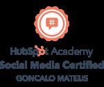 hubspot social media marketing badge certification