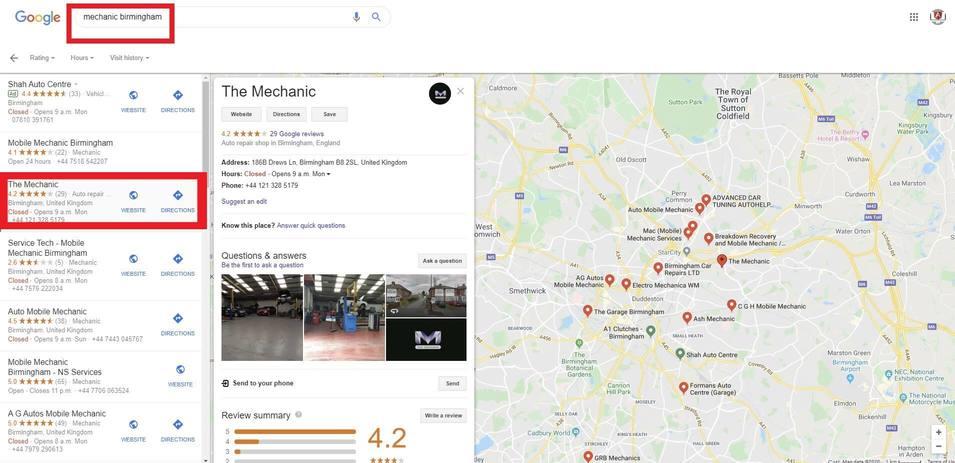 Serviços Google My Business 23