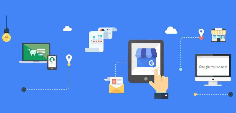 Imagem a representar a diversas formas que Google my business é importante para pequenos negócios e negócios locais