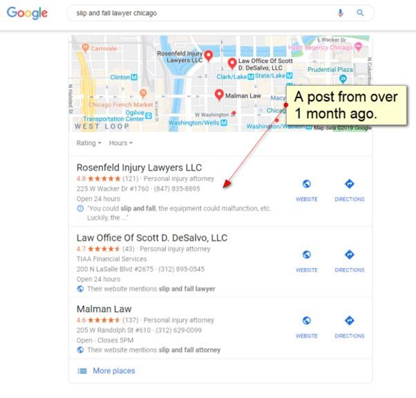 4 pontos importantes sobre as publicações no Google My Business, 3-Pack e Local Finder - Pesquisador Local 1