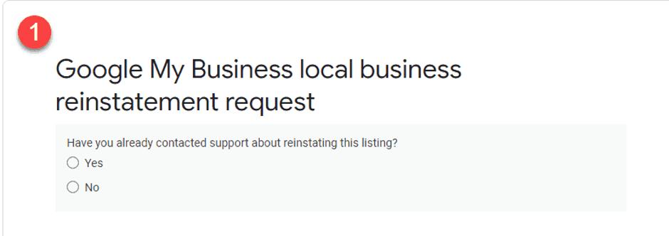 Como restabelecer o teu perfil após uma suspensão do Google My Business 1
