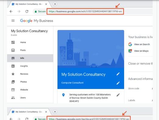 Como restabelecer o teu perfil após uma suspensão do Google My Business 4