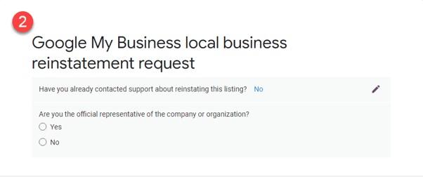 Como restabelecer o teu perfil após uma suspensão do Google My Business 3