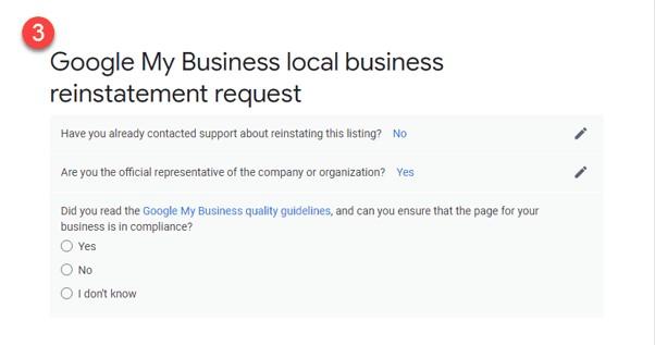 Como restabelecer o teu perfil após uma suspensão do Google My Business 5